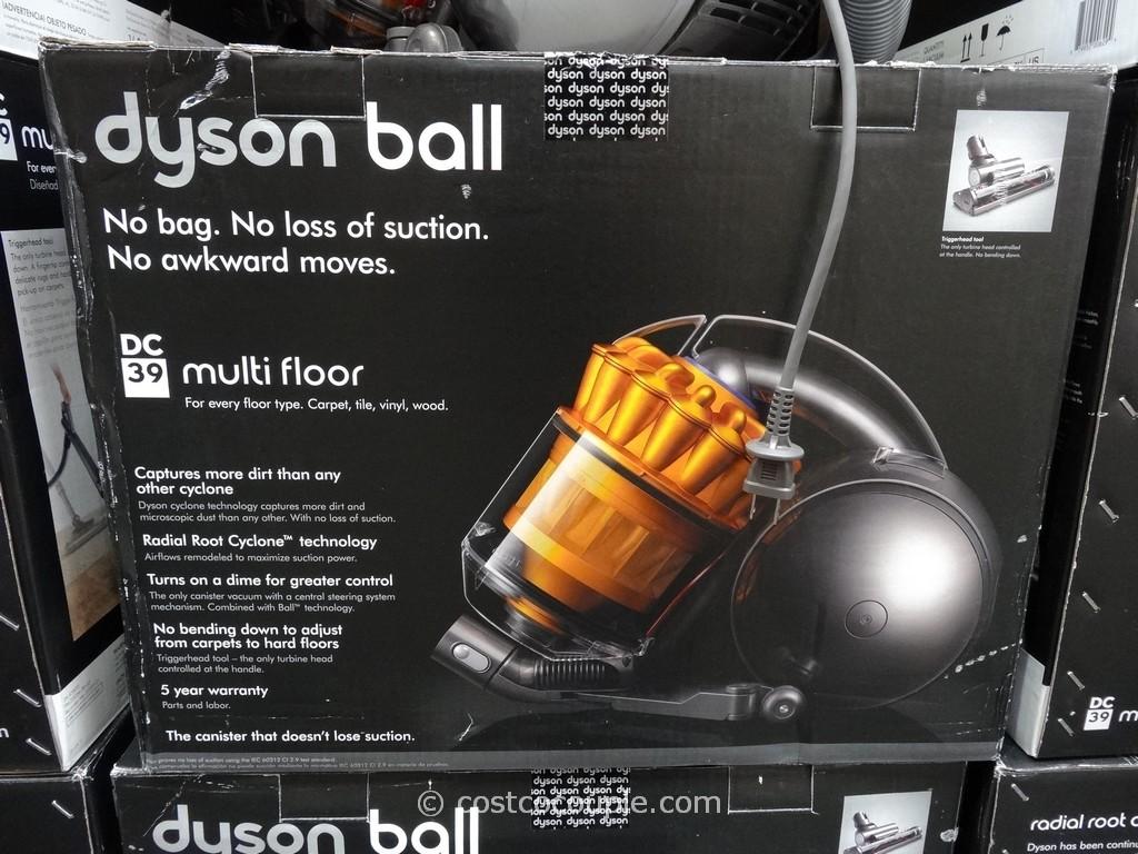 Nice Dyson DC39 Multi Floor Canister Vacuum Costco 5 ...
