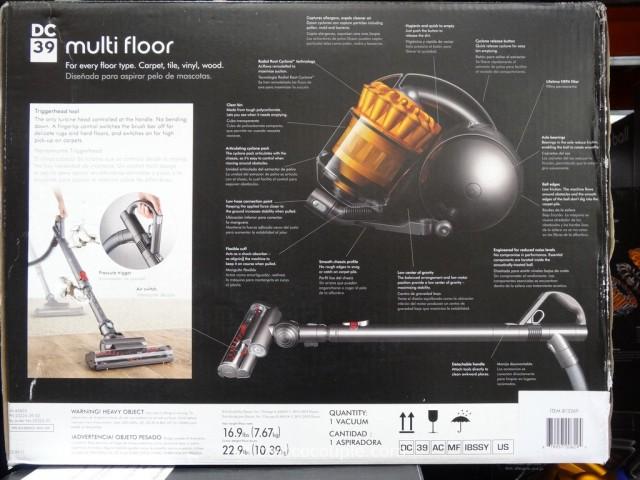 Dyson DC39 Multi-Floor Canister Vacuum Costco 6
