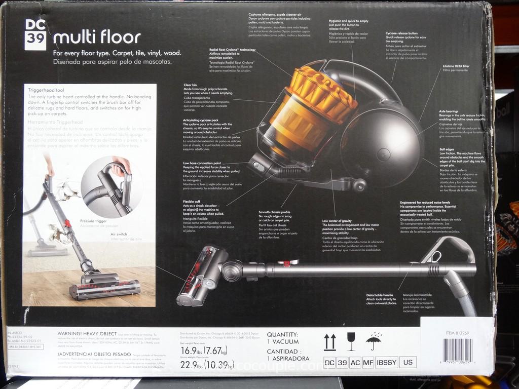 ... Dyson DC39 Multi Floor Canister Vacuum Costco 6 ...