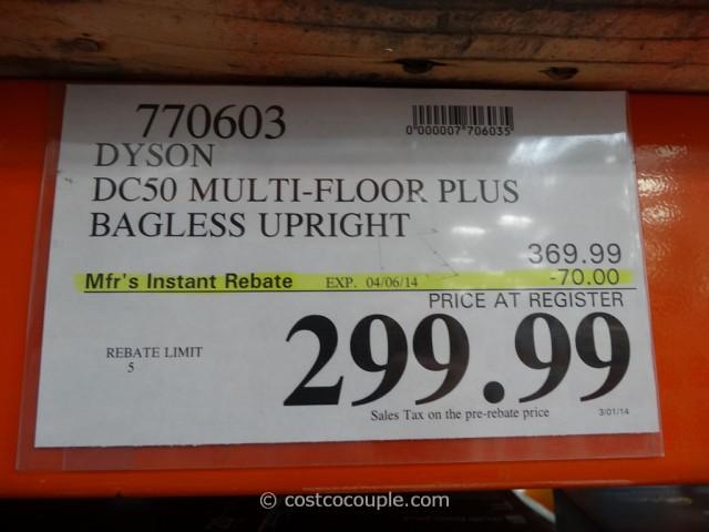 Dyson DC50 Multi-Floor Plus Costco