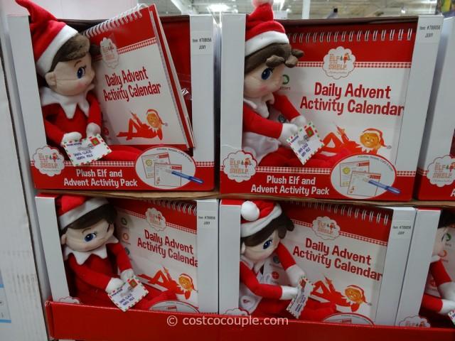 The Elf On The Shelf Plush Elf And Advent Activity Set