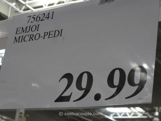 Emjoi Micro-Pedi Costco 6
