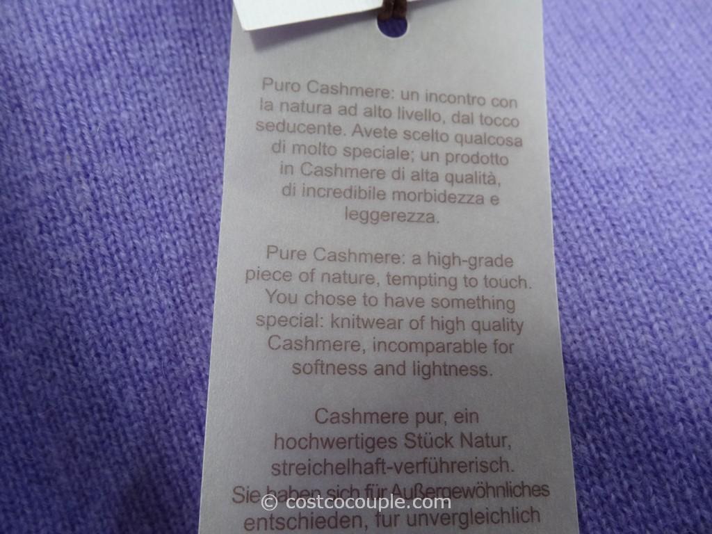 Enzo Mantovani Ladies Cashmere Crewneck Sweater