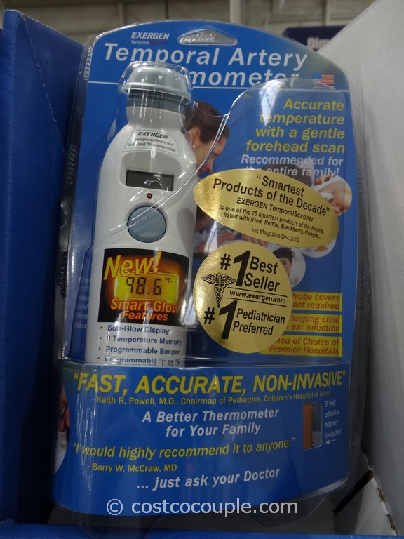 Exergen Temporal Artery Thermometer Costco 3