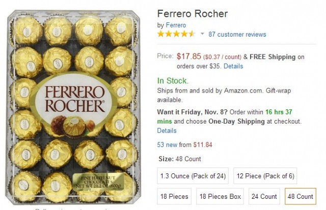 Ferrero Rocher Amazon