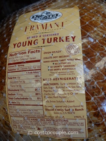 Framani Diestel Whole Brined and Seasoned Turkey Costco 3