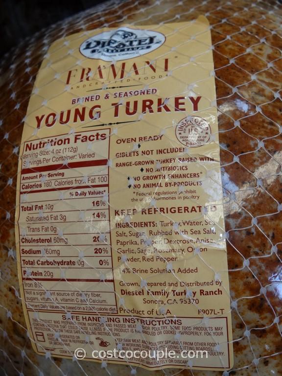 Fra Mani Diestel Whole Brined And Seasoned Turkey