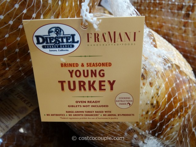 Framani Diestel Whole Brined and Seasoned Turkey Costco 4