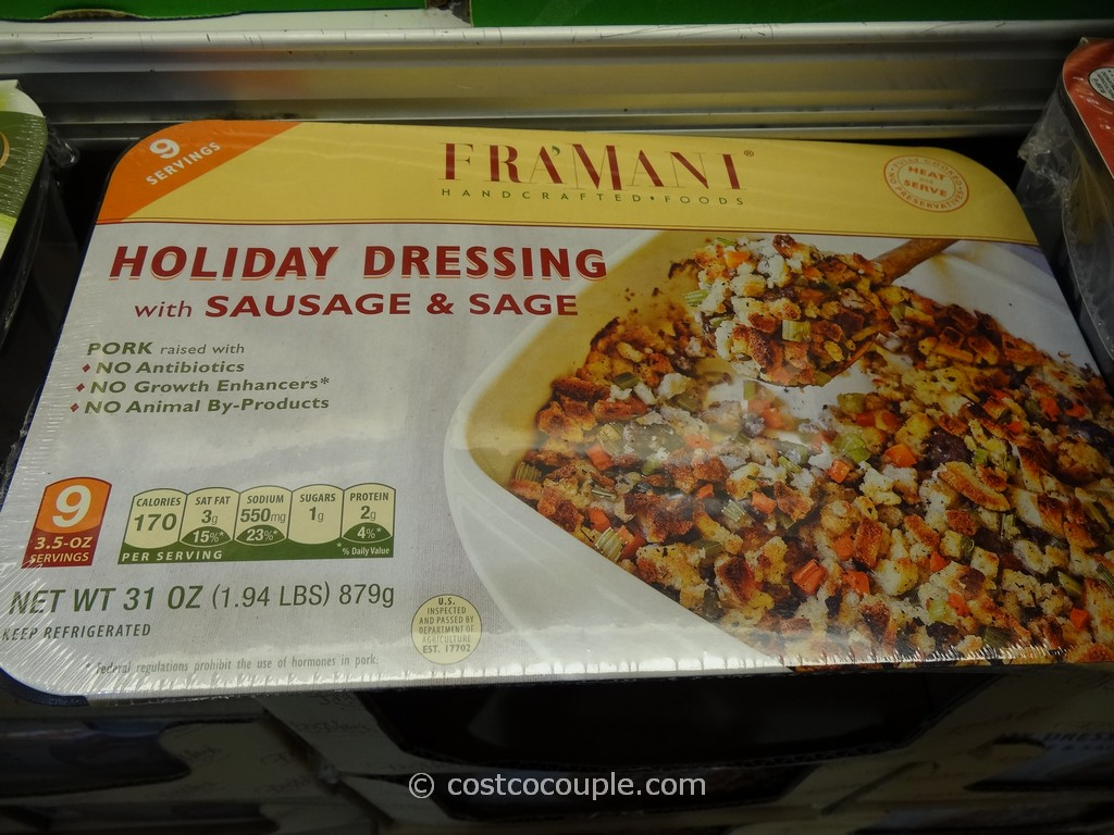 Framani Holiday Dresing Costco 2