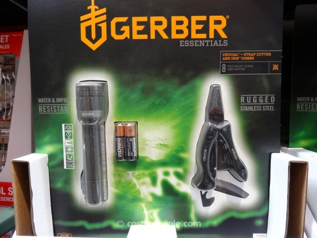 Gerber Crucial Multi-Tool and LED Flashlight Combo Costco 1