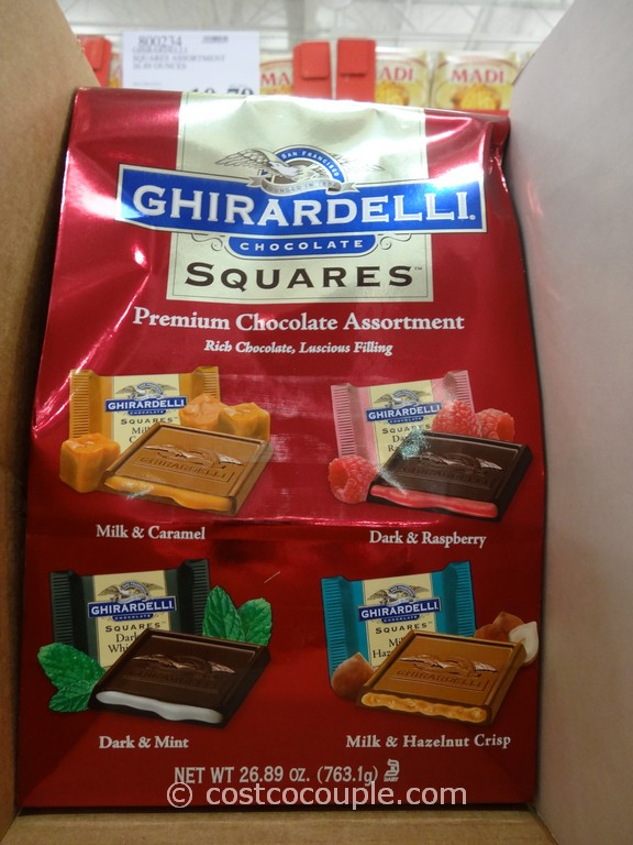 Ghirardelli Squares Assortment Pack Costco 2