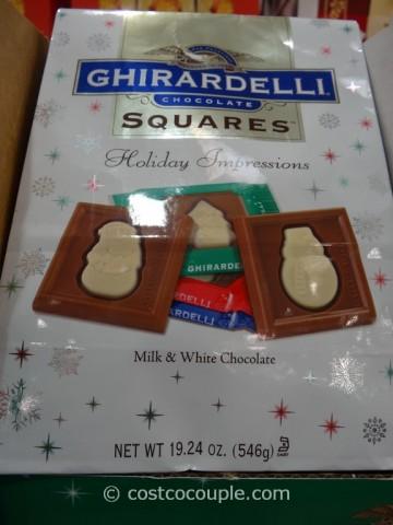 Ghirardelli Squares Holiday Impressions Costco 3