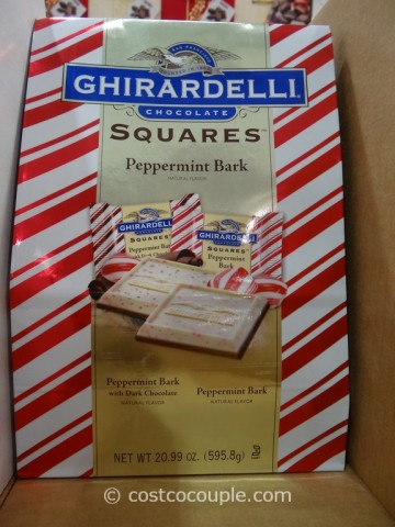 Ghirardelli Squares Peppermint Bark Costco 1