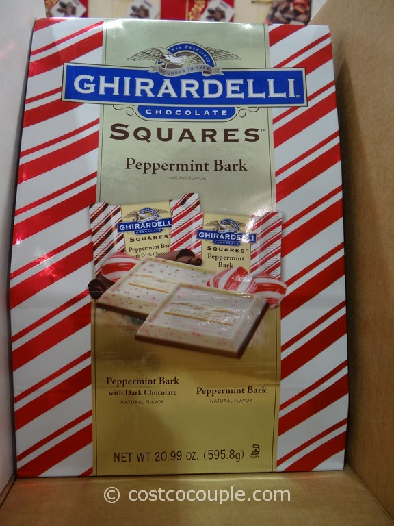 Ghirardelli Squares Peppermint Bark Costco 1