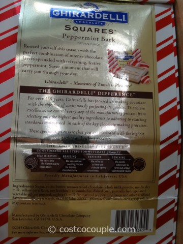 Ghirardelli Squares Peppermint Bark Costco 3
