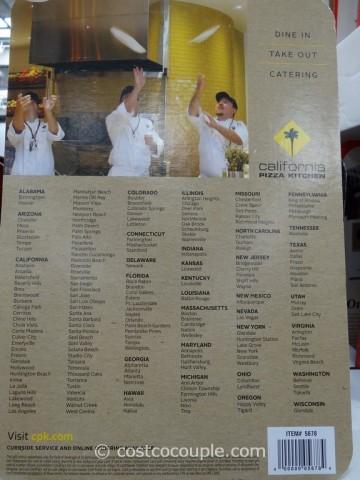 Gift Card California Pizza Kitchen Costco 2