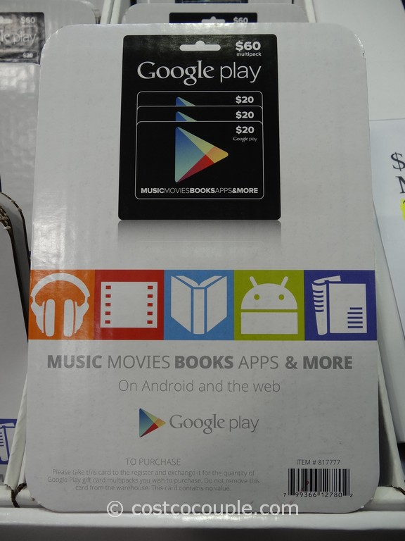 Gift Card Google Play Costco 2