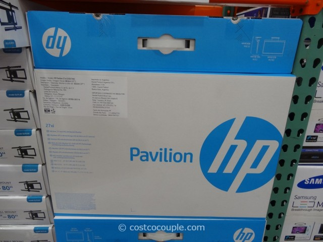 HP 27-Inch IPS LED Monitor Costco 3