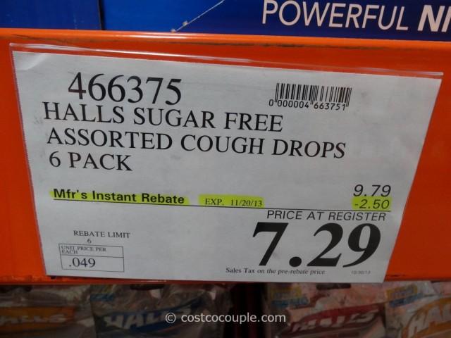 Halls Sugar Free Cough Drops Costco 1