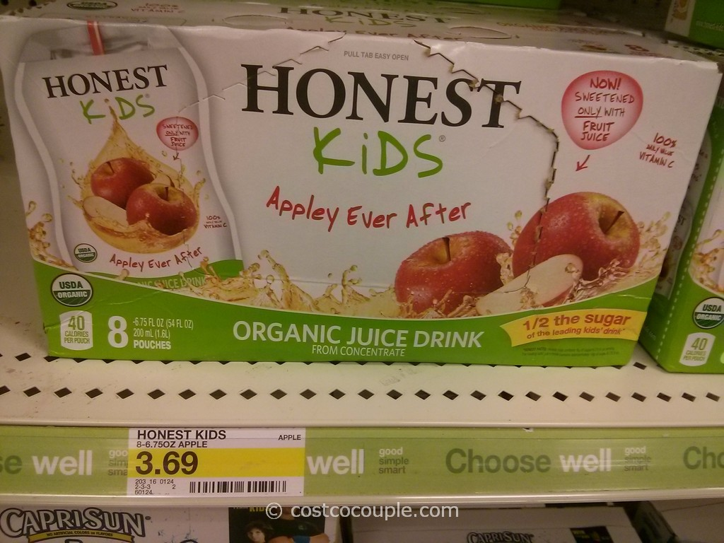 Honest Kids Organic Juice Drink Target