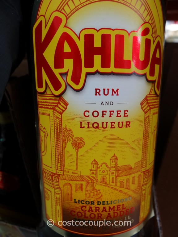 Kahlua Rum and Coffee Liqueur Costco 3 ...