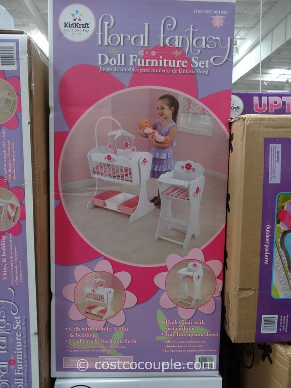 KidKraft Floral Fantasy Doll Furniture Costco 1
