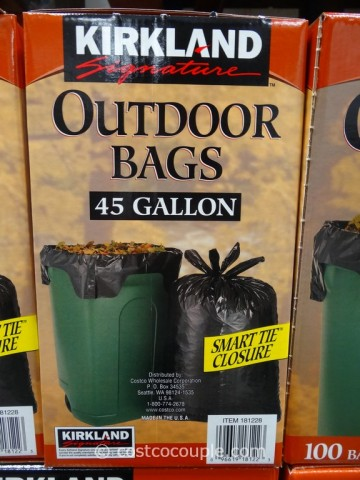 Kirkland Signature 45 Gal Outdoor Bags Costco 2