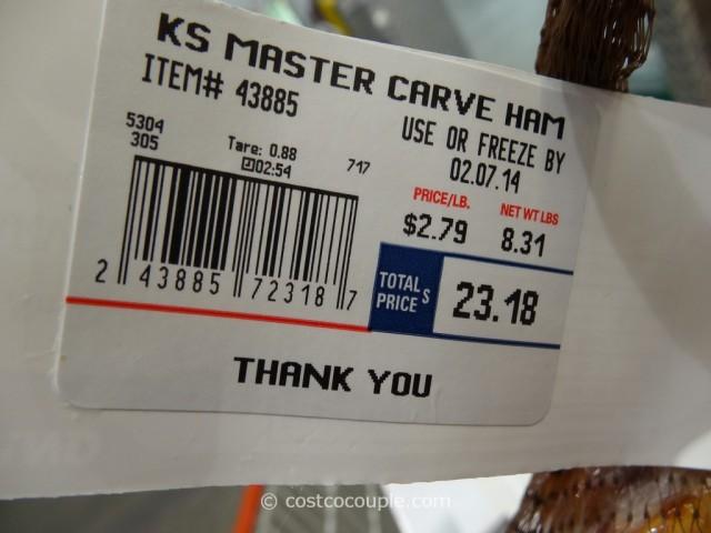 Kirkland Signature Applewood Smoked Master Carve Ham Costco 3