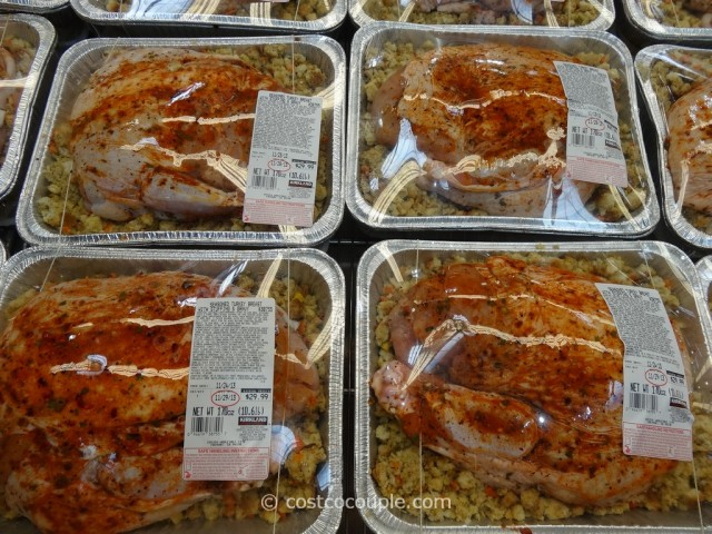 Kirkland Signature Seasoned Turkey Breast With Stuffing and Gravy Costco 2