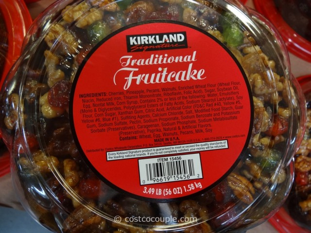 Kirkland Signature Traditional Fruitcake Costco 2