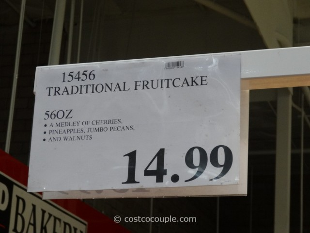 Kirkland Signature Traditional Fruitcake Costco 3