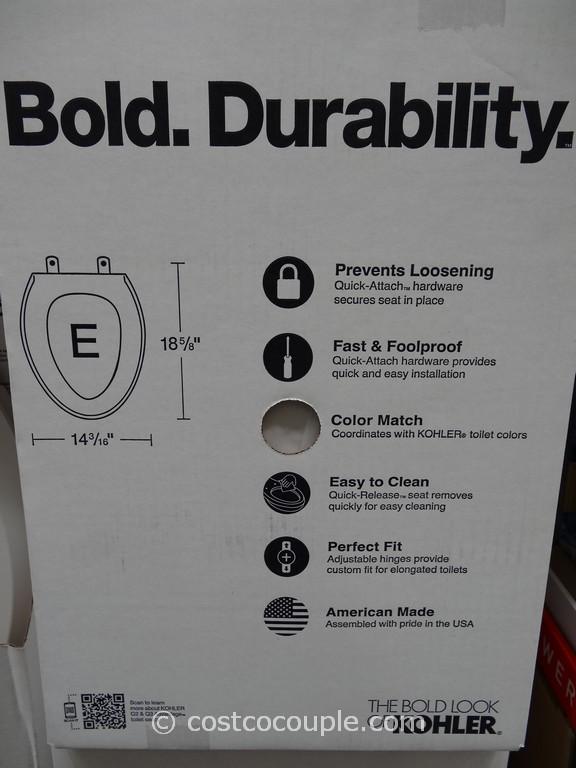 Kohler Quiet Close Elongated Toilet Seat Costco 2