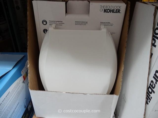 Kohler Quiet Close Elongated Toilet Seat Costco 5
