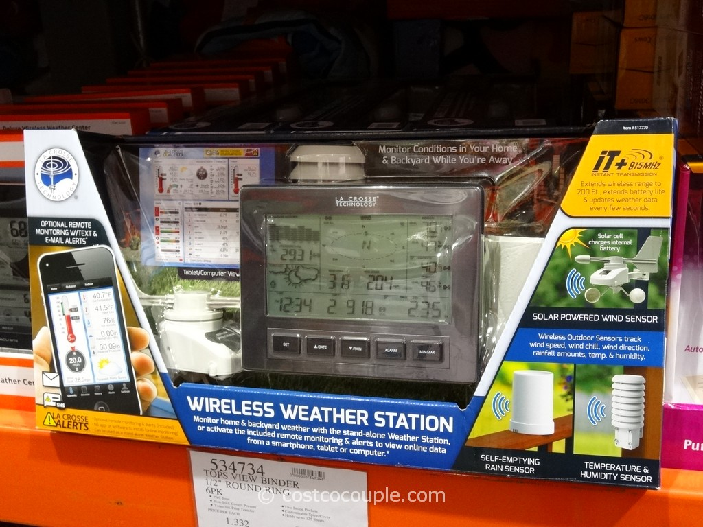 Lacrosse Wireless Weather Station Costco 2
