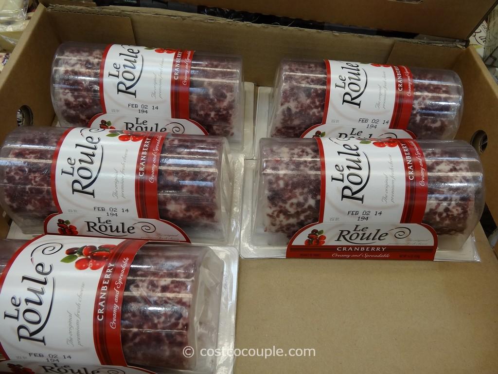 Le Roule Cranberry Log Costco 2