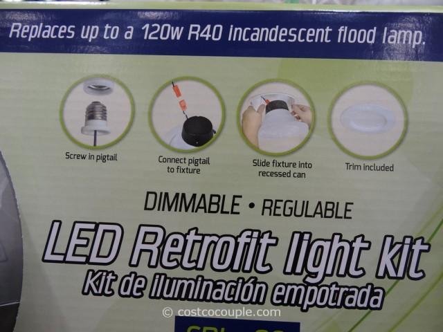 Luminus 23w Dimmable Led Retrofit Kit
