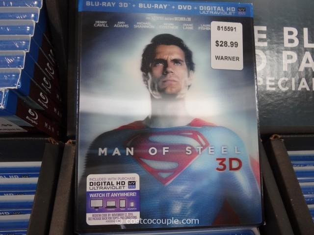 Man of Steel BluRay DVD Costco 4