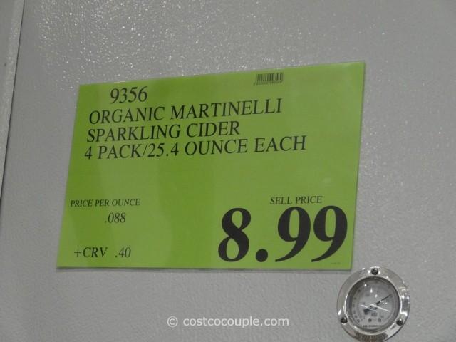 Martinelli Organic Sparkling Cider Costco 1