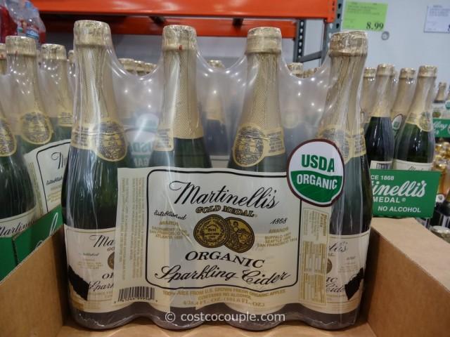 Martinelli Organic Sparkling Cider Costco 2
