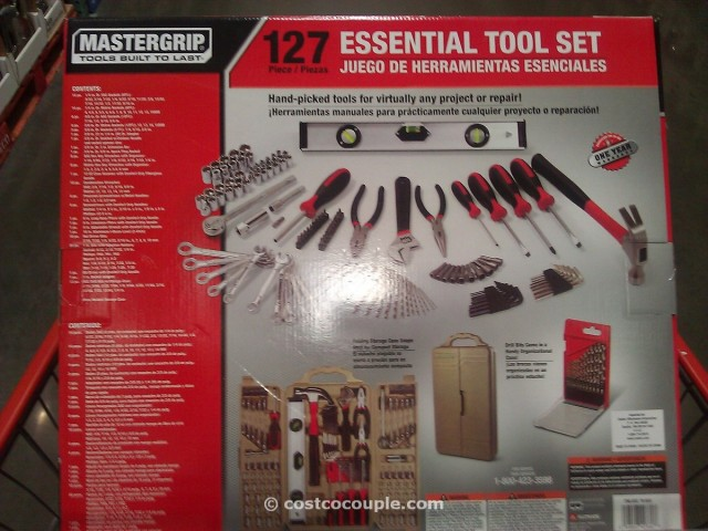 Mastergrip 127 Piece Homeowners Tool Kit