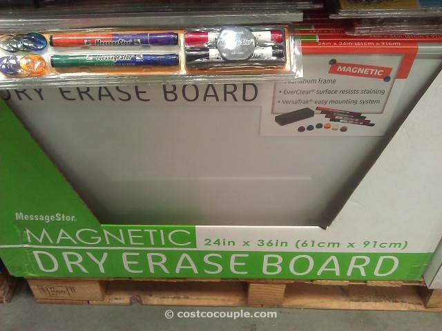 MessageStor Dry Erase Board Costco 2