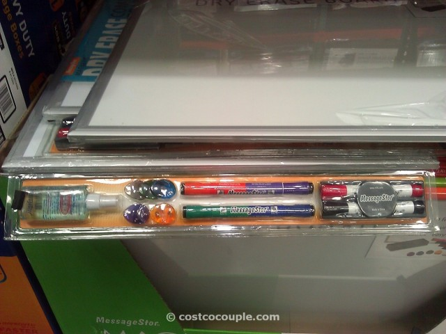 MessageStor Dry Erase Board Costco 3