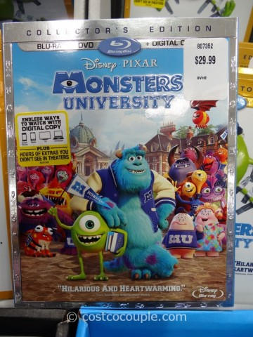 Monsters University Dvd Blu Ray