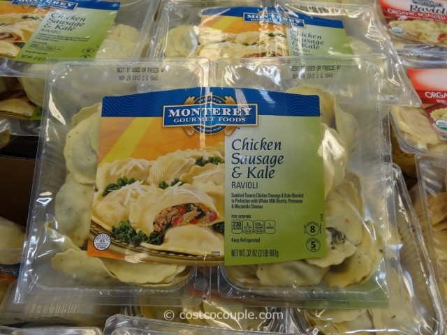 Monterey Pasta Chicken Sausage and Kale Ravioli Costco 3
