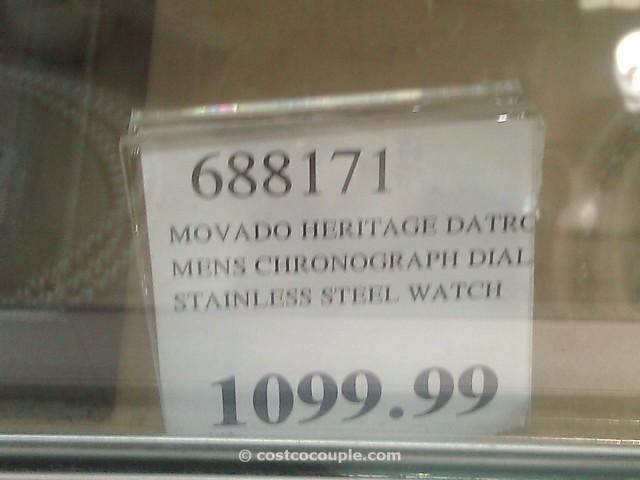 Movado Heritage Datron Costco 1