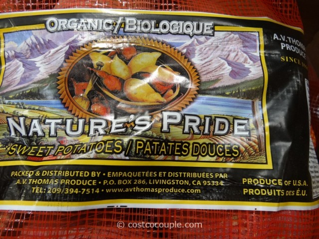 Natures Pride Organic Sweet Potato Costco 2