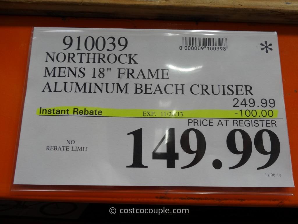 Northrock OC Mens 18Inch Beach Cruiser