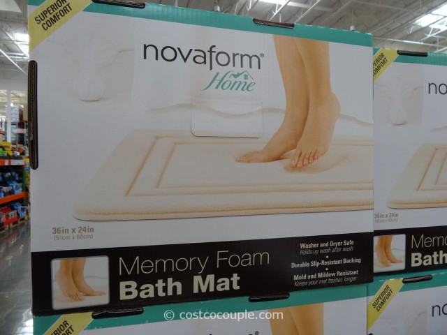 NovaForm Memory Foam Bath Mat Costco 1