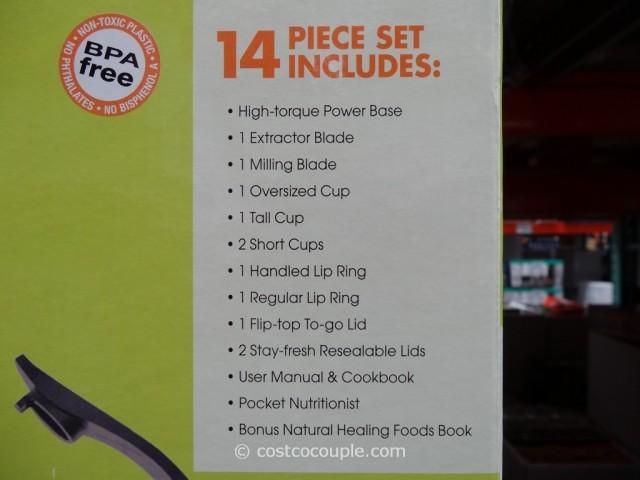 NutriBullet Deluxe 14-Piece Set Costco 3