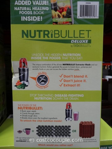 NutriBullet Deluxe 14-Piece Set Costco 7